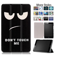 Tablet Case For Huawei Media Pad T3 8 0 Solid Slim Cover Stand Case Flip PU