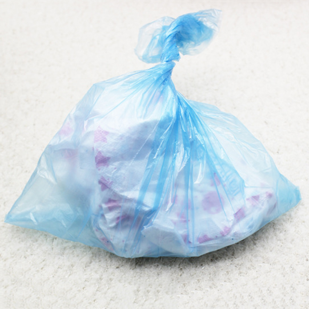 Baby Garbage Bags Travel Nappy Bags Baby Diaper Nappy Disposable One-time Use Rubbish Bag Nappy Bag To The Stroller For MaMa