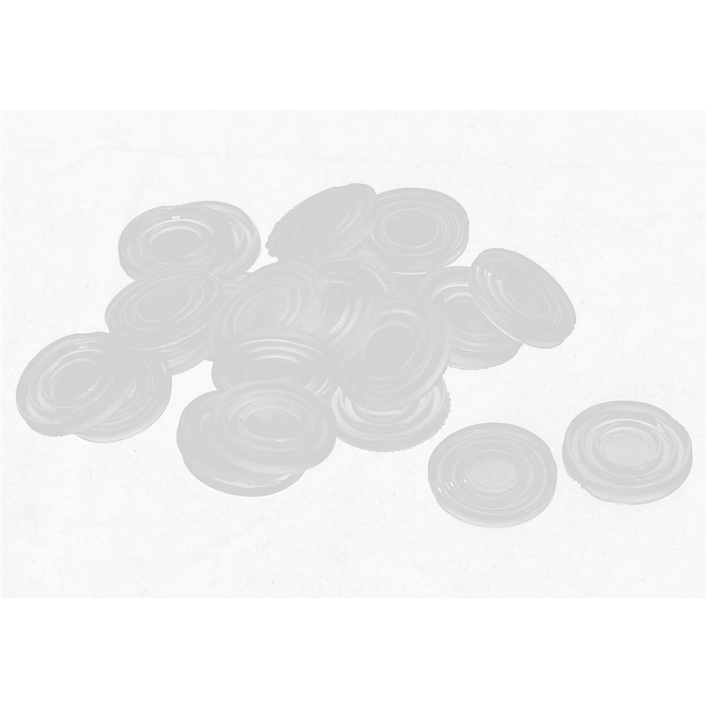 Hot Sale Round Clear Plastic Non-slip Glass Table Dash Mat Pad 24x3mm 30pcsHot Sale Round Clear Plastic Non-slip Glass Table Dash Mat Pad 24x3mm 30pcs