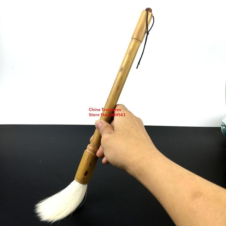 Big size,Chinese Calligraphy Writing Brush Pen Dou Bi  Dai Kai Mao Bi