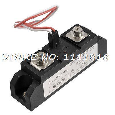 AC-DC SSR 120A Solid State Relay 75-480V AC Output 3-32V DC Input