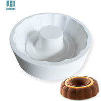 Flower Round Shaped Silicone Molds Cake Pan Round-Ring Sandwich Mold Baking and Dessert Cake Decorating Tools
