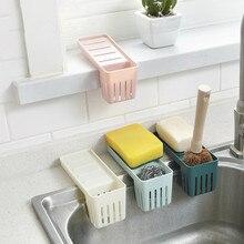 Kitchen Sponge Drain Holder Suction Cup Sink Shelf Soap Sucker Storage Rack Basket Wash Cloth Or Toilet Soap Shelf Storage Shelf