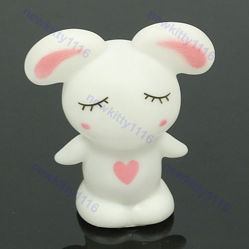 2007Rascal rabbit Romantic Colorful 7 Color Changing LED Lamp Night Light Kids Gift ...