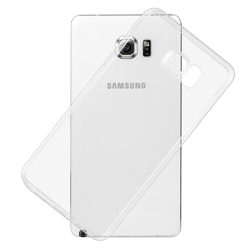Gel Case Coque Transparent S6-Edge-Plus Note 8 Cover For Samsung Galaxy 3 4-S3 Clear