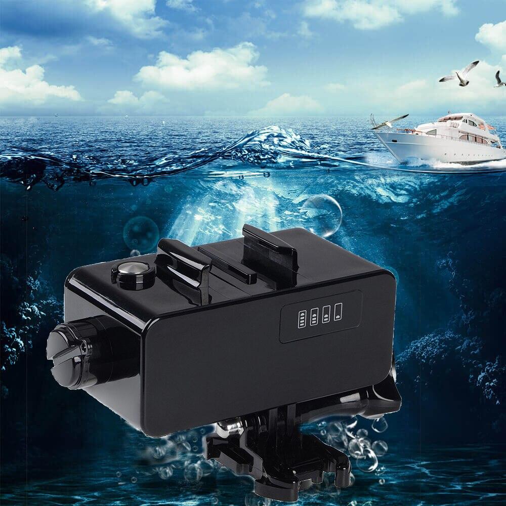 Étanche Puissance Banque 5200 mah Externe Batterie Pour GoPro Hero 6 5 4 3 Hero 5/4 Session Xiaomi Yi 4 k 4 2kplus Lite SJCAM M10 SJ9000