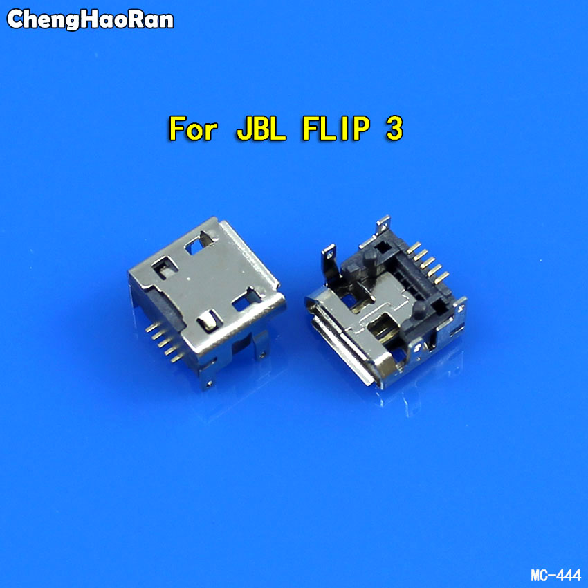 ChengHaoRan 5pcs For JBL Charge FLIP 3 Bluetooth Speaker Female 5 Pin Type B Micro Mini USB Charging Port Jack Socket Connector