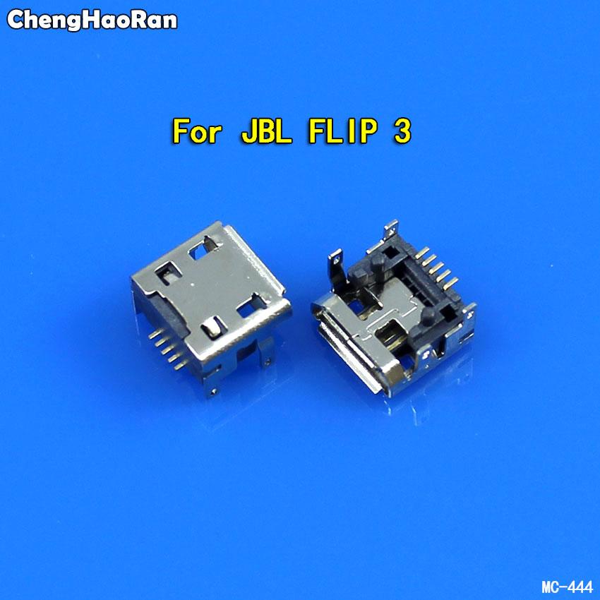 ChengHaoRan 5pcs For JBL Charge FLIP 3 Bluetooth Speaker Female 5 Pin Type B Micro Mini USB Charging Port Jack Socket Connector