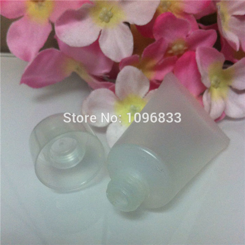 15ML Plastic Hose Tube Bottle Cosmetic Cream Lotion Refill empty bottle Squeeze Shampoo Shower Gel Packing bottle 100pc/Lot