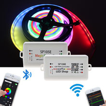 SP105E Bluetooth SP107E Music SP108E WiFi led controller For WS2812B WS2811 LED New Arrival Dropshipping(China)