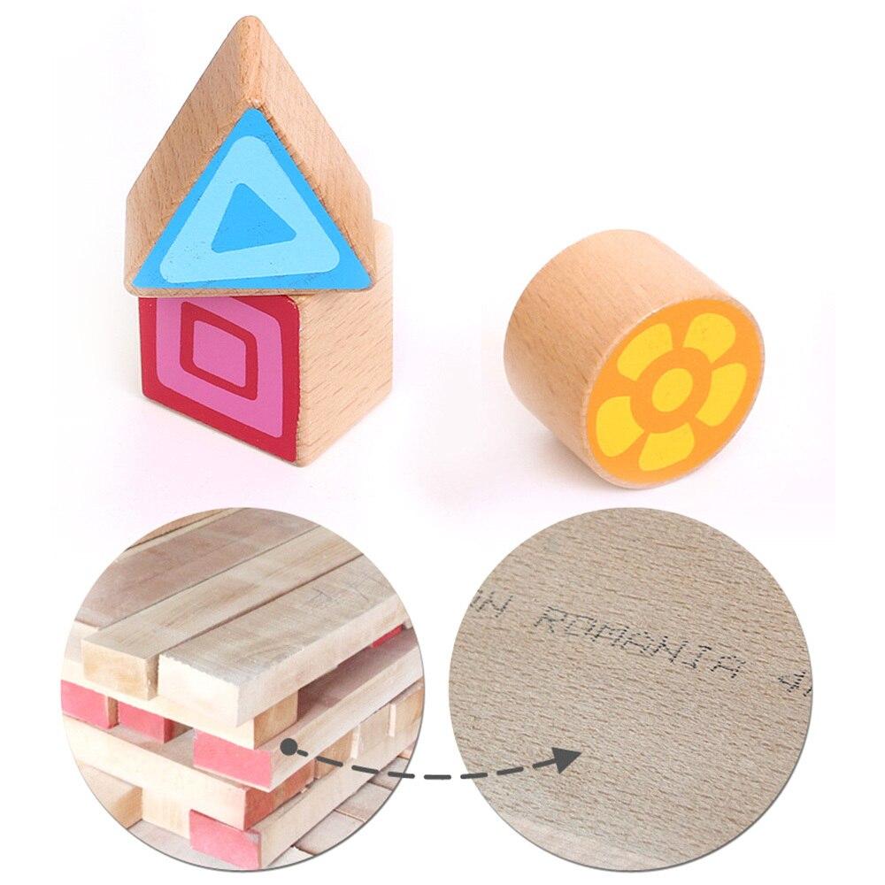 Kids Wooden Montessori Toys Xylophone Intelligence Box Match Building Block High Quality