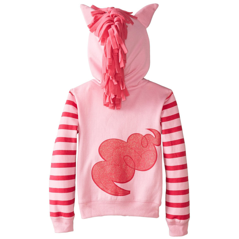 2017 new retail trends in fashion cartoon girl child girl jacket large size foal cartoon sweater coat cotton clothing 1