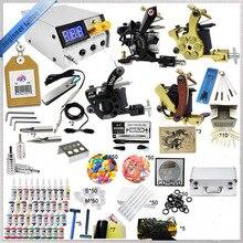Top quality ink tattoo kit full set accessary 4 gun tattoo machine kits 2517 kits