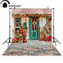 Allenjoy contexto da fotografia presente de Natal casa celebrar fotográfica photo studio fundo photocall photobooth