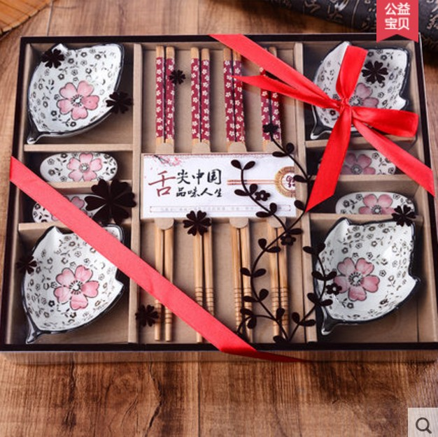 Wedding Gift Dinner Set : live Traditional Chinese Dinnerware Set vintage chopstick wedding gift ...