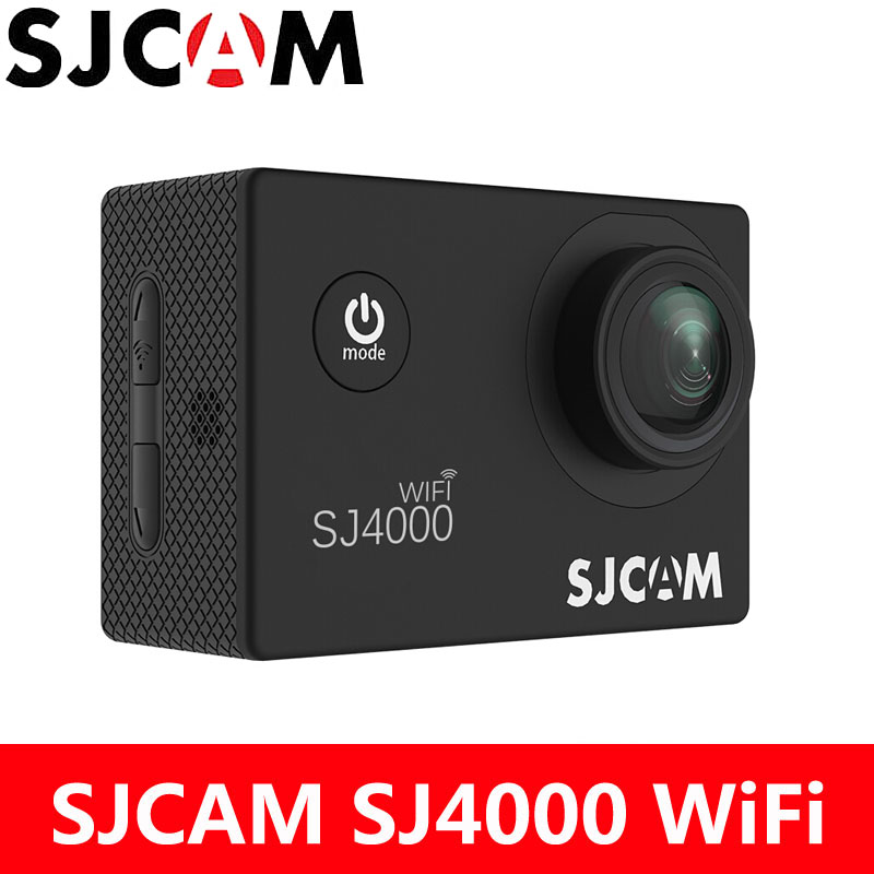 цена на Action Camera SJCAM SJ4000 WiFi Sports DV 1080P Full HD 2.0 inch LCD Screen Diving 30M Waterproof SJ 4000 Cam mini Camcorder