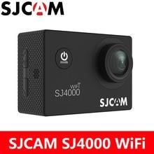 Действие Камера SJCAM SJ4000 Wi-Fi Спорт DV 1080 P Full HD 2.0 дюймов ЖК-дисплей Экран Дайвинг 30 м Водонепроницаемый SJ 4000 cam мини видеокамера
