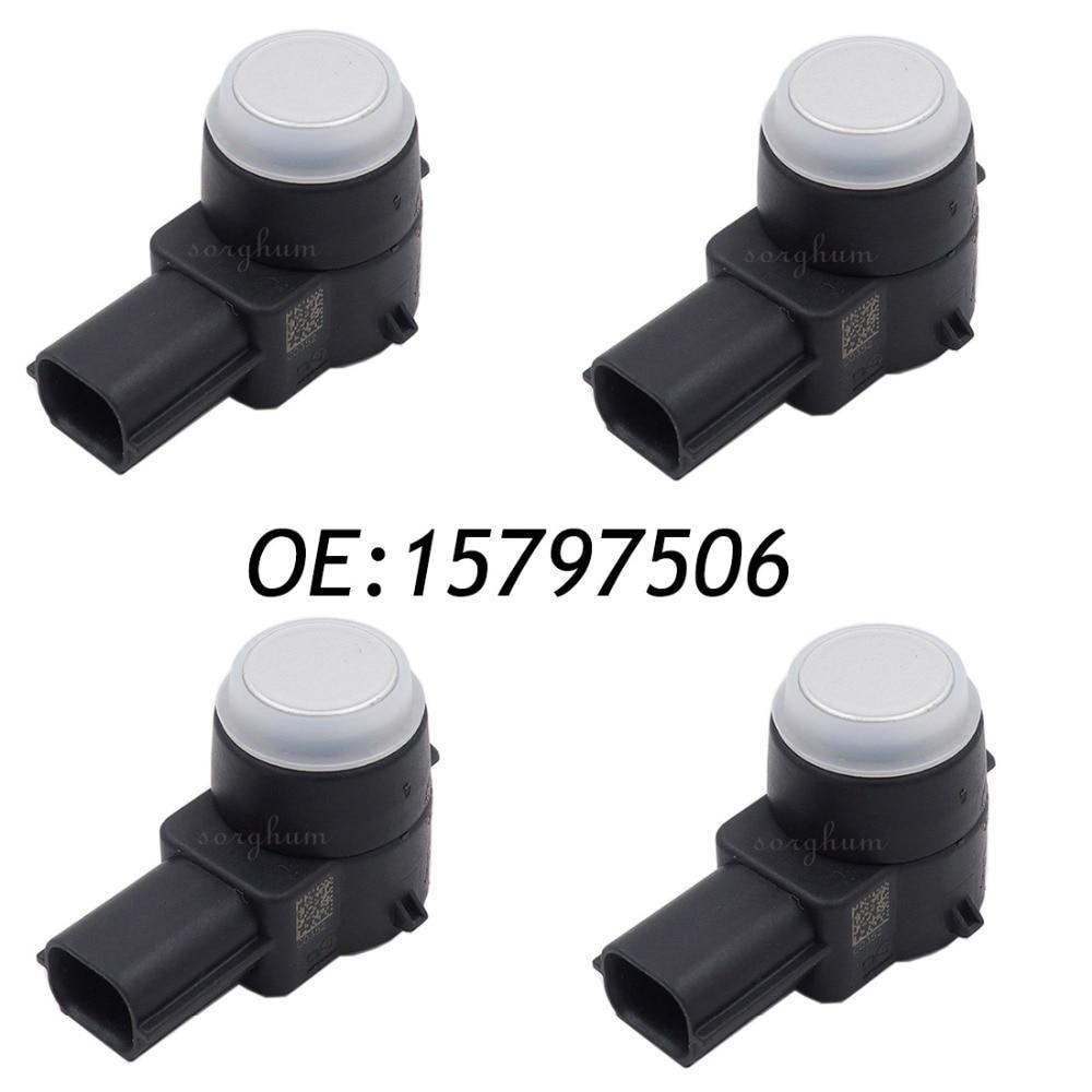 4PCS PDC Parking Sensor For G M 2007-2013 Chevy Silverado GMC Sierra 2500 15797506 0263003549