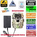 Free Shipping!SG-880V 1080P 12MP 940NM Night Vision Infrared IR Trail Scouting Cam Hunting Camera+16GB Wifi Card+4800mAh Battery