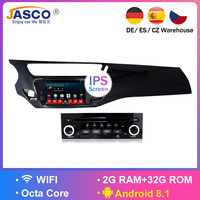 IPS Android 8.1 Car DVD Stereo Player GPS Glonass Navigation Multimedia for Citroen C3 DS3 2010 2013 2014 2016 Auto Radio Audio