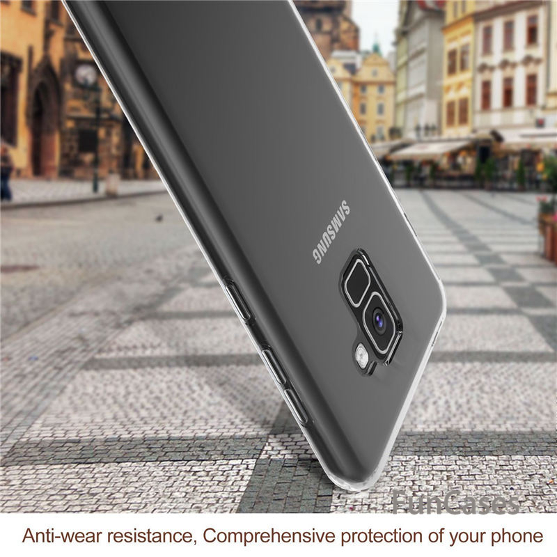 For <font><b>Samsung</b></font> Galaxy A6 2018 A6plus A6+ A 6 Plus Clear For <font><b>Samsung</b></font> S10 Lite Plus A8S A6S J6 J8 A9 Star <font><b>A8</b></font> J3 A750 J4 Core J7 <font><b>DUO</b></font> image