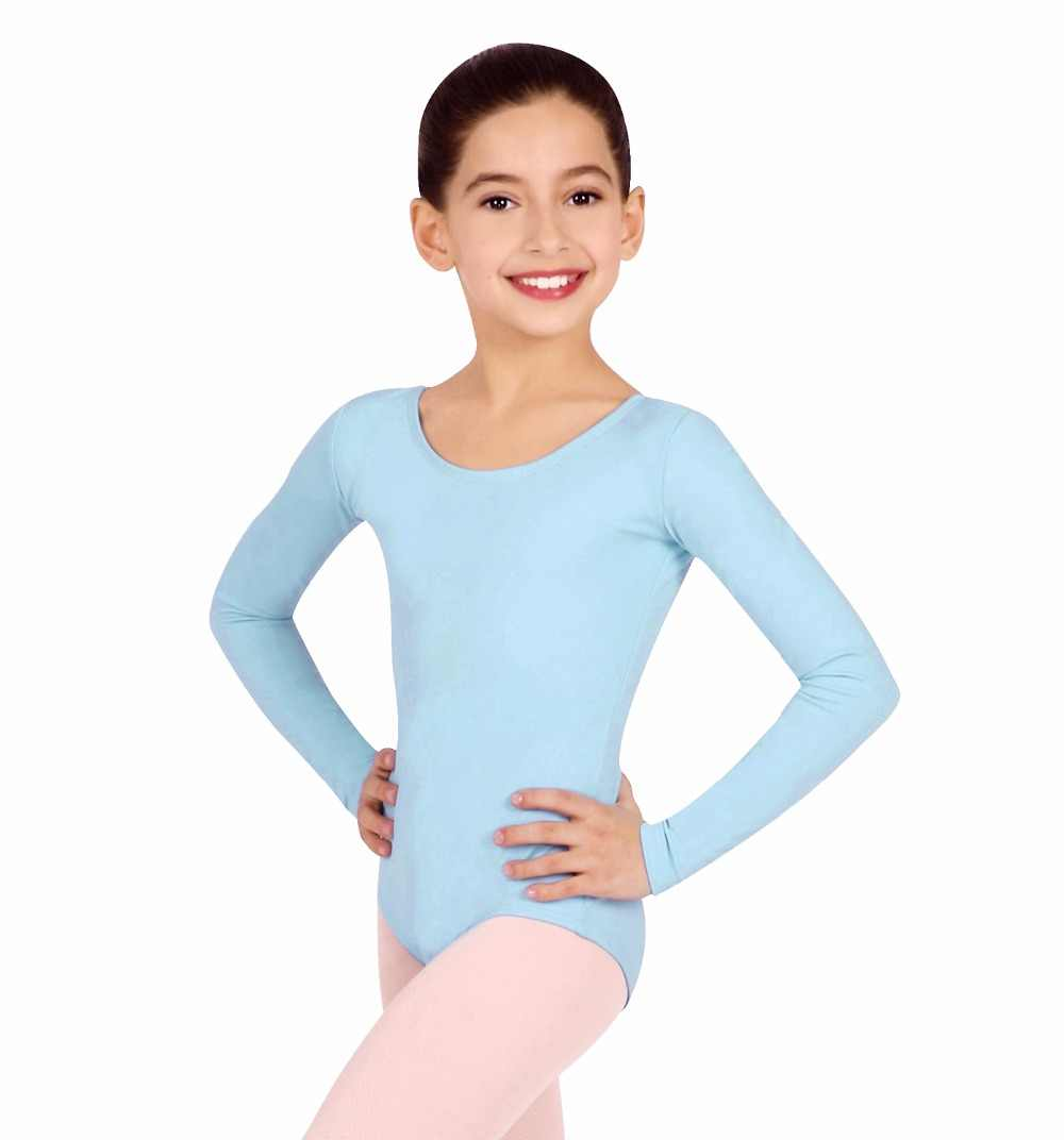 3a07e8dc2831 Detail Feedback Questions about Kids Long Sleeve Leotards for Girls ...