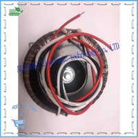 30w 40w 50w 100w Ring transformer 220V input toroidal transformer Power Amplifier Transformer dual 12V 15V 18V 22V 24V 30V 32V .
