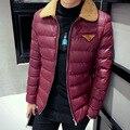 Free Shipping Brand Winter Men's Clothing Winter Jacket  Parka Men Wadded Men Outwear Fashion Warm Coat