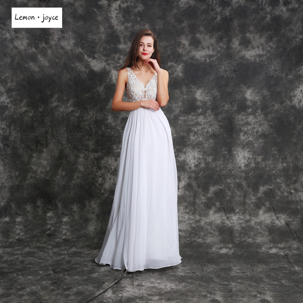 Online buy wholesale lemon bridesmaids from china lemon elegant bridesmaid dresses v neck sleeveless backless lace women ladies chiffon a line prom ombrellifo Gallery