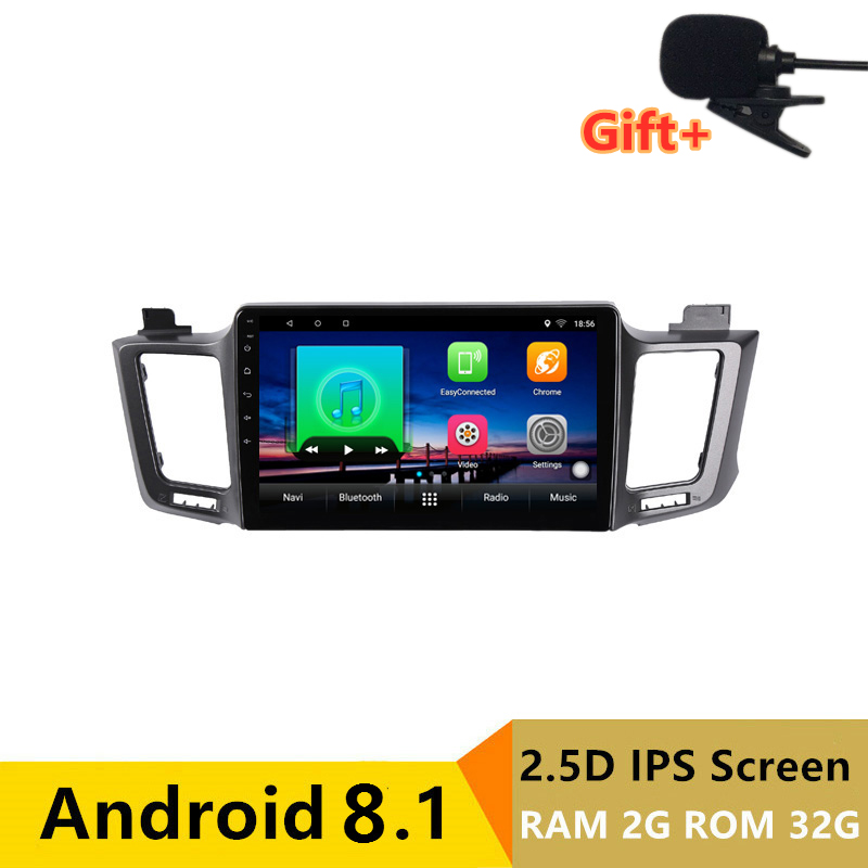 "10.1"" 2G RAM 32G ROM Android Car DVD Video Player GPS For Toyota RAV4 2013 2014 2015 radio audio stereo navigator bluetooth wifi"