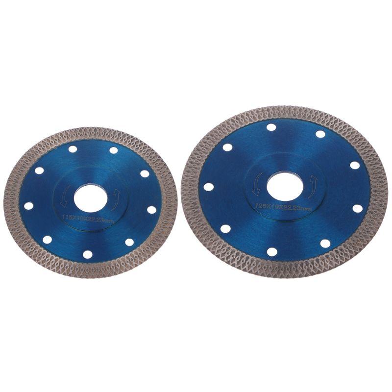 Diamond Turbo Ultra-thin Mesh Saw Blade Cutting Tools For Ceramic Porcelain Tile