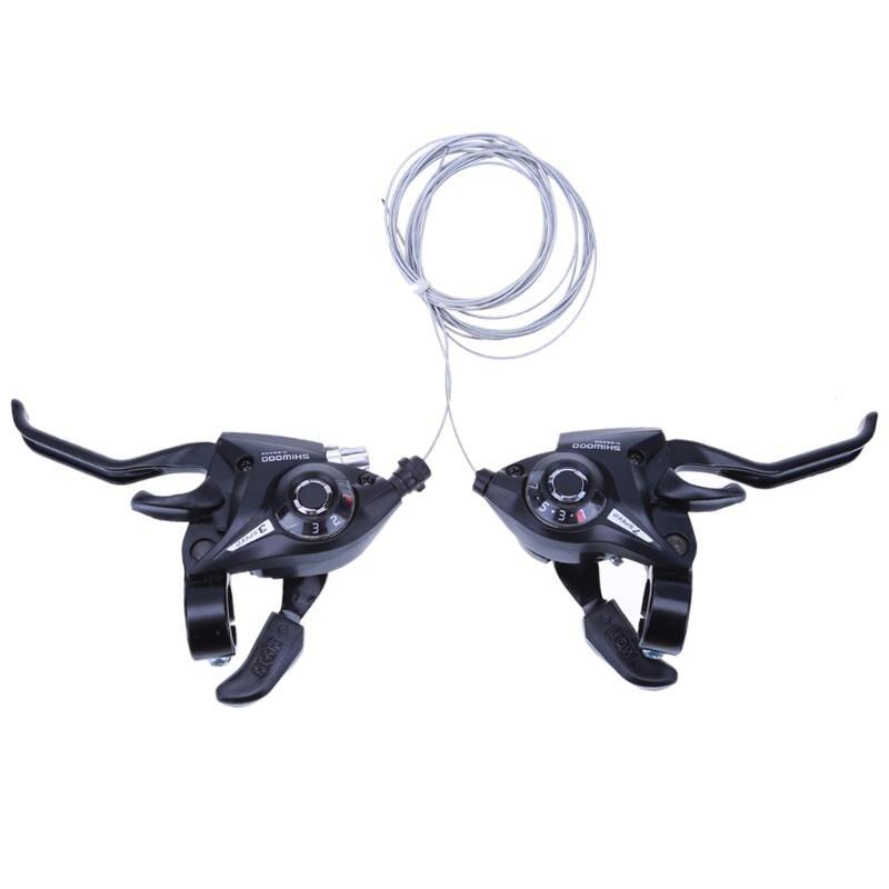 Neue 21 Geschwindigkeit Fahrrad shifter brems verbunden DIP Umwerfer Mountainbike straße Griff Kurbel Hebel Cilicsmo MTB Übertragung