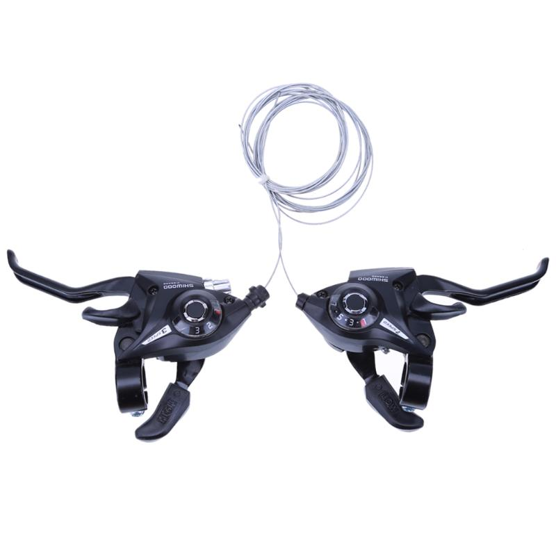 New 21 Speed Bicycle shifter brake conjoined DIP Derailleurs Mountain Bike road Handle Crank Levers Cilicsmo MTB Transmission