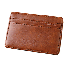High Quality Men MIni Wallets PU Leather Vintage Style Leather Magic W