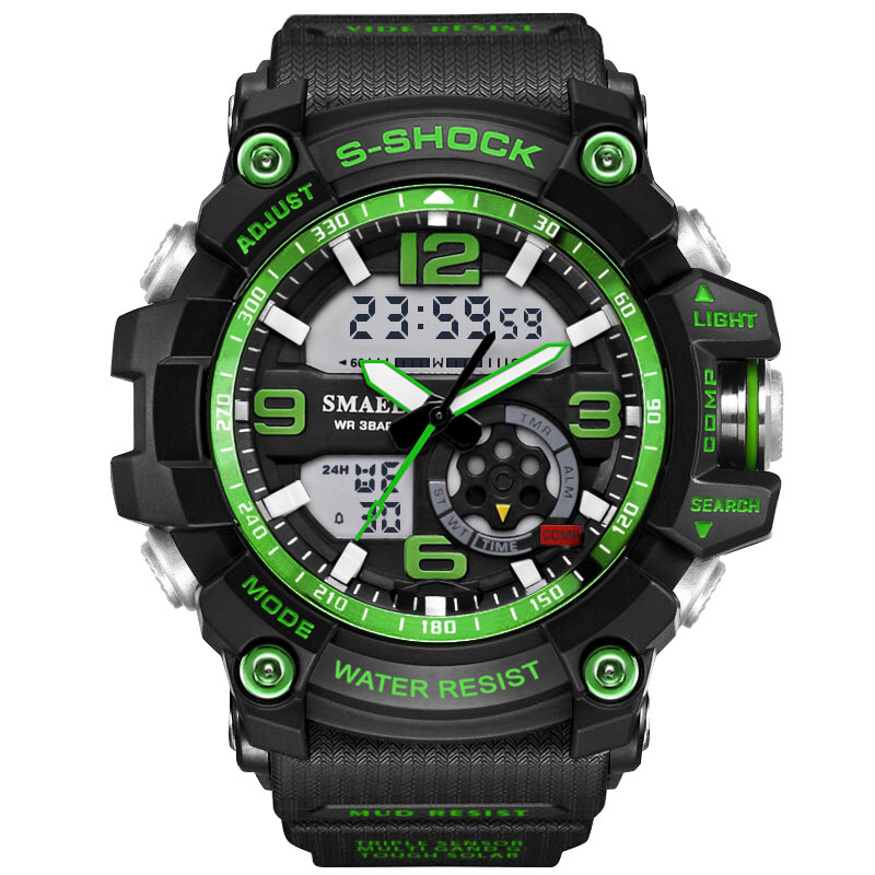 Drop Shipping Fashion Men Sports Watches Male S Shock Watch Casual Quartz LED Digital Waterproof Swimming