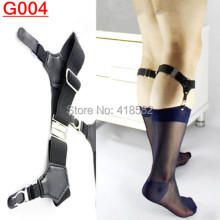 Men Shirt Stays Garters Elastic Polyester Adjustable Holder Belt Stirrup Style