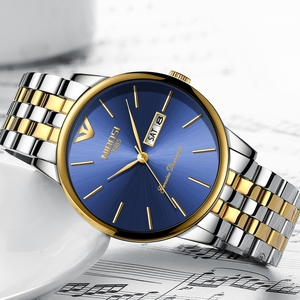 Image 2 - NIBOSI สไตล์แฟชั่นผู้ชายนาฬิกาควอตซ์ Luxury Week วันที่สตีลกันน้ำ Casual นาฬิกาข้อมือผู้ชายนาฬิกา Relogio Masculino