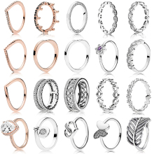 13c542b7c Buy pandora ring and get free shipping on AliExpress.com