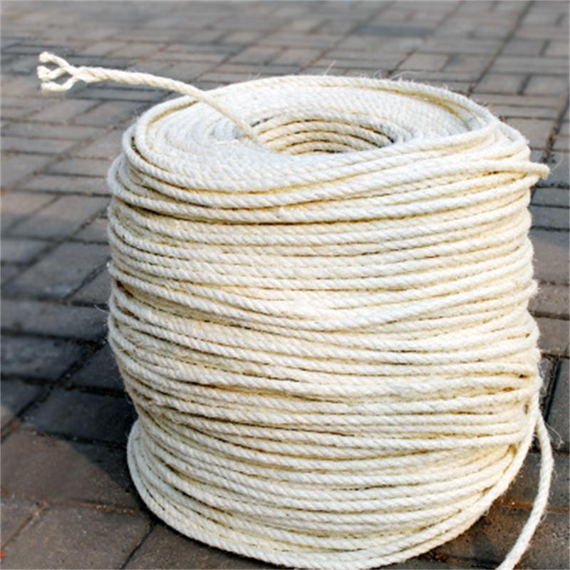 10M Sisal Rope for Cat Tree Cat Climbing Frame DIY cats scratching post toys making desk legs binding rope for cat sharpen claw