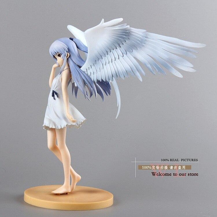 Anime FS Angel Beats Tenshi Kanade Tachibana Good Smile Ver Begrenzte PVC Action Figure Modelle Spielzeug 1 8 20 Cm Kostenloser Versand In