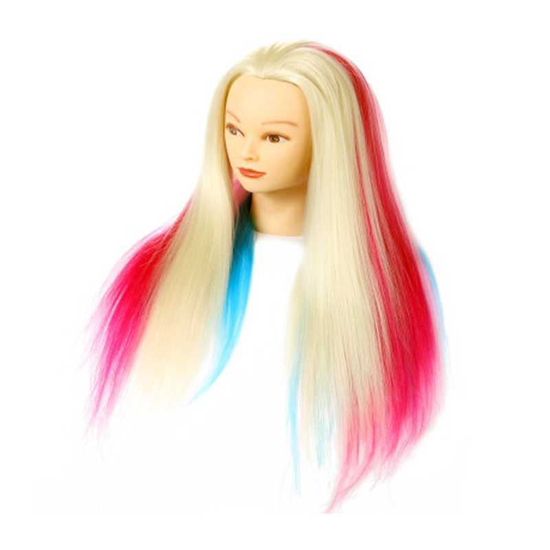Super Quality Mannequin Head Hair Hairdressing Training Educational Doll Heads Styling