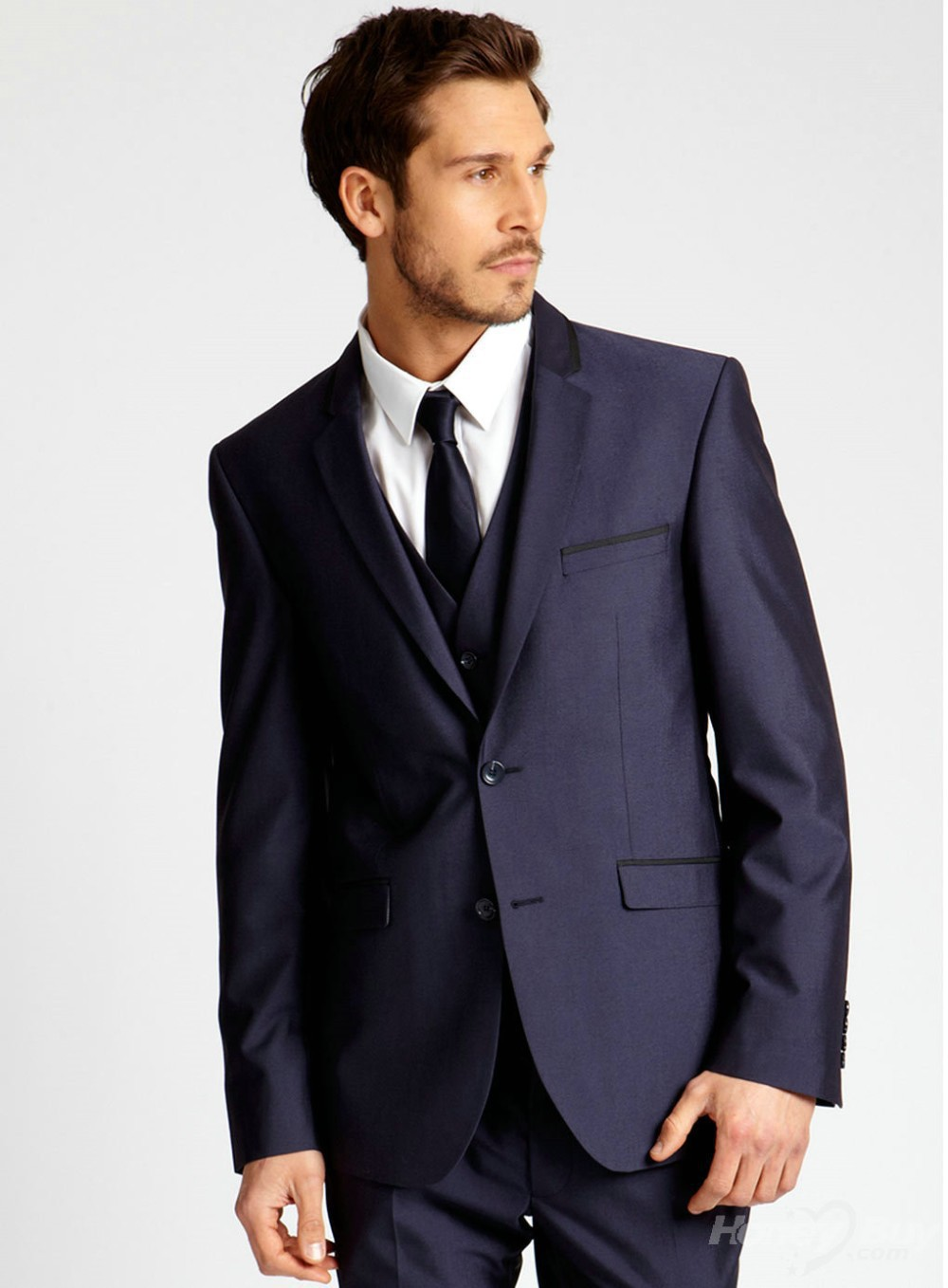 Online Buy Wholesale blue classic men wedding suits from China ...