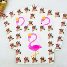 20pcs/lot Flamingo Party Supplies Paper Napkin Baby Shower Theme Favors Kids Girl Cartoon Birthday Decoration