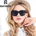 Baviron tr90 alta calidad gafas de sol de las mujeres polarizadas gafas de conducción gafas de sol polaroid colorido protección uv400 9007