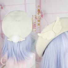 Mori Lolita sweet beauty pancake hat beret wool autumn and winter hat painter ha