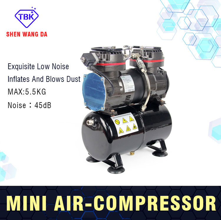 Factory price high pressure air compressor price 300W mini compressor for phone lcd repair machine mobile air compressor export to 56 countries air compressor price