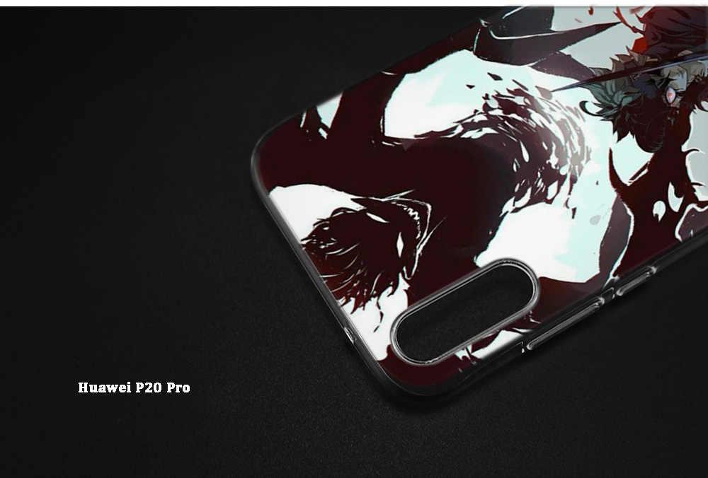 Черный клевер аниме мультфильм Забавный чехол для huawei mate 20 P20 Honor 9 10 8X 8C Nova 3i 4 Lite Pro P Smart Y6 Y9 Prime 2018 чехол