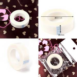 3 PCS/Lot Eyelashes Extension Eye Patch Medical Paper Tape Isolate Under Eye Pad Non Woven Stickers(China)