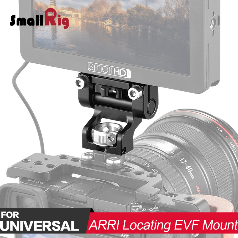 SmallRig Camera Video EVF Holder with Arri Locating Pins EVF Mount Monitor Support Bracket EVF Mounting