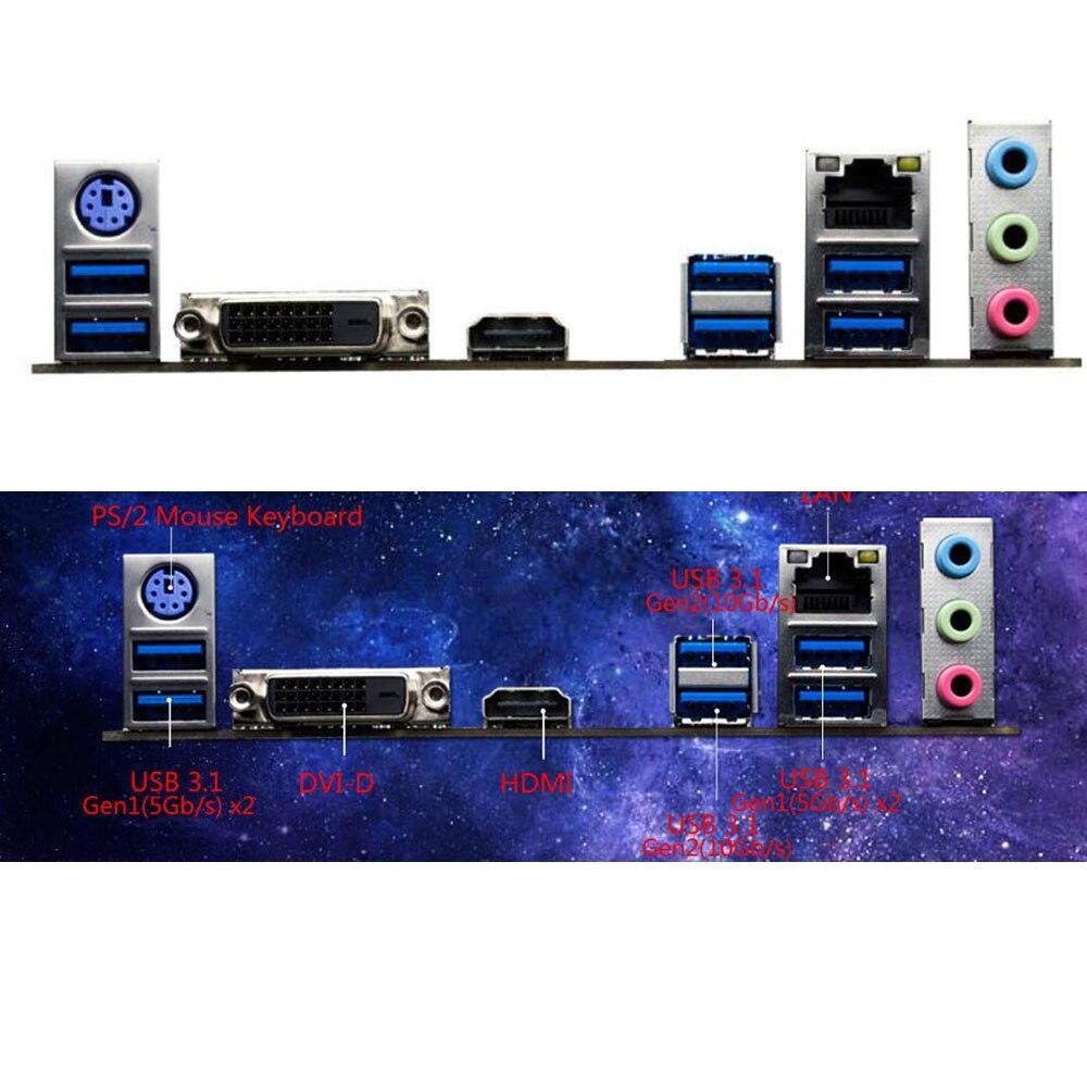 BIOSTAR Original board B350GT3 AM4 B350 Motherboard Support for RYZEN 1400 1700 DDR4 3200(OC) 2933(OC) 2667/ 2400 M.2(32Gb/s)